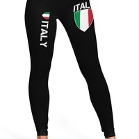 Italy Proud Italy Flag Leggings
