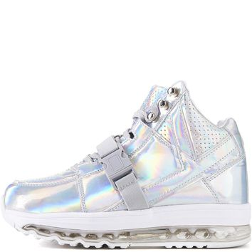 Y.R.U. for Women: Qozmo Aiire Light Up Hologram Sneakers