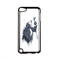 Wolf Song 3 Black Hard Plastic Case for Apple iPod Touch 5th Gen by Balazs Solti