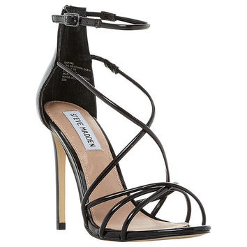 Steve Madden Satire Strappy Stiletto Heeled Sandals at John Lewis