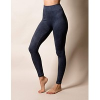 Control Fit Vintage Denim Leggings - XL Only