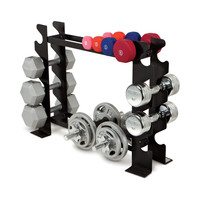 Apex 8-Pair Dumbbell Rack at Brookstone—Buy Now!