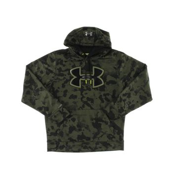 Under Armour Mens Knit Camouflage Hoodie