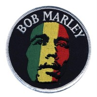 Bob Marley - Face Round Patch