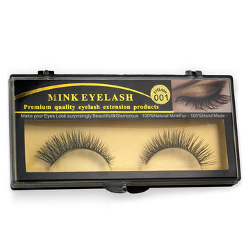 1 Pairs Natural Thick Mink False Eyelashes for Beauty Makeup  Natural Extension Eyelashes for Maquiagem