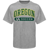 Oregon Ducks Soccer Sports And Pride T-Shirt - Ash