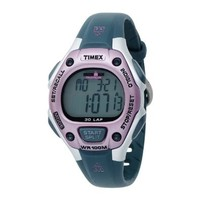 Timex Women's T5K020 Ironman Traditional Triathlon Watch with Gray Band