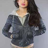 The Jealous Lover Jacket in Navy
