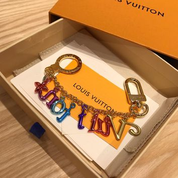 Louis Vuitton Lv New Wave Chain Bag Charm And Key Holder | M63748 - Best Online Sale