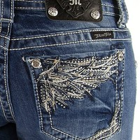 Miss Me Glitz Boot Stretch Jean