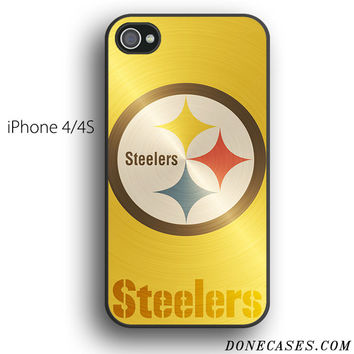 Pittsburgh Steelers Nfl Logo case for iPhone 4[S]