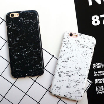 Starry Sky Case for iPhone 7 7Plus & iPhone se 5s 6 6 Plus Best Protection Cover +Gift Box-187