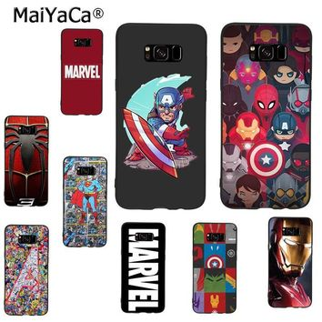 Deadpool Dead pool Taco MaiYaCa  iron Man Marvel Avengers KingKong Star Wars phone Case for samsung galaxy s9 note 4 5 note8 s7 s6 s8 plus case AT_70_6