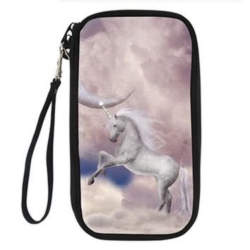 Unicorn Clutch Wallet (unicorn in the sky)
