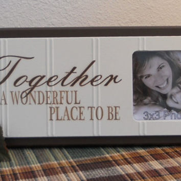 together is a wonderful place to be from nelsonsgifts on etsy