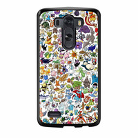 Pokemon All Caracters LG G3 Case