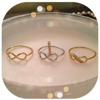 "Pink Palace Accessories — ""Infiniti"" Rings"