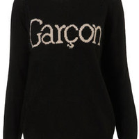Knitted Garcon Jumper - Geek Chic  - Collections