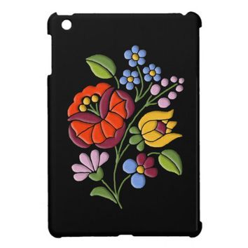 Kalocsa Embroidery - Hungarian Folk Art Cover For The iPad Mini from Zazzle.com