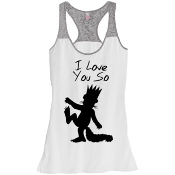I Love You So Junior Varsity Tank