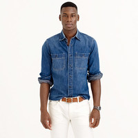 WALLACE & BARNES JAPANESE DENIM WORKSHIRT