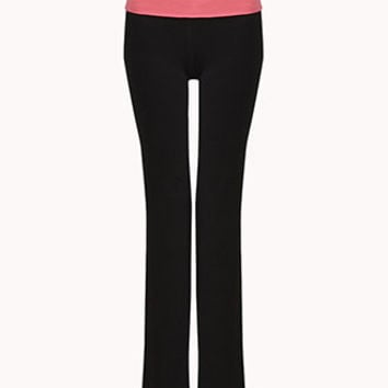 Ombré Fit & Flare Workout Pants | FOREVER 21 - 2051519854