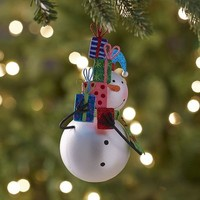 Glitter Snowman with Gifts Ornament$5.56$6.95