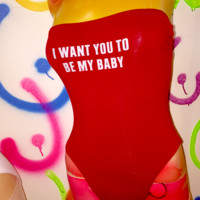 SWEET LORD O'MIGHTY! BE MY BABY BODYSUIT