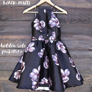 Floral Fit & Flare Dress (more Colors/prints)