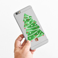 Christmas Tree - Christmas Gift - Chirstmas Idea - Winter - Super Slim - Printed Case for iPhone - S044