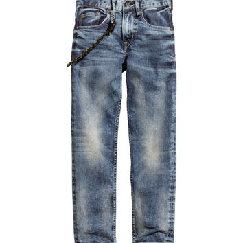 H&M - Slim Jeans - Denim blue - Kids