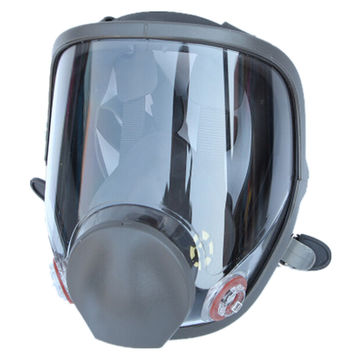 Large View For 6800 Gas Mask Full Face Facepiece Respirator Painting Spraying Silicone Mask