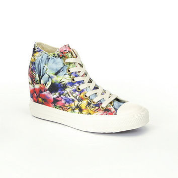 Converse Women's Chuck Taylor® All Star® Lux Floral Wedge Sneakers | Dillards