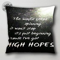 the vamps quotes 1 pillow case, cushion cover ( 1 or 2 Side Print With Size 16, 18, 20, 26, 30, 36 inch )