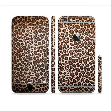 The Vibrant Cheetah Animal Print V3 Sectioned Skin Series for the Apple iPhone 6 Plus
