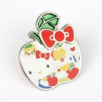 Hello Kitty Collector's Pin: Apple Bow