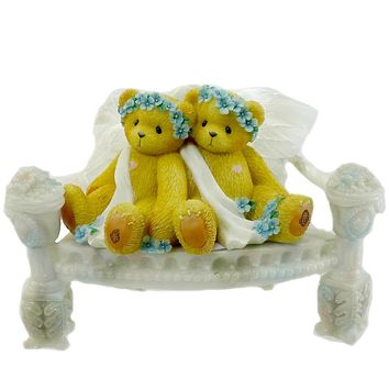 Cherished Teddies Chantel And Fawn Figurine