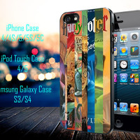 Harry Potter 7 Book Samsung Galaxy S3/ S4 case, iPhone 4/4S / 5/ 5s/ 5c case, iPod Touch 4 / 5 case