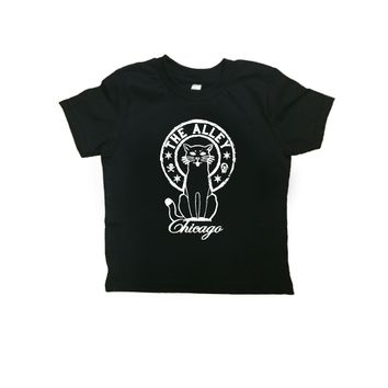 The Alley Black Cat Baby Tshirt