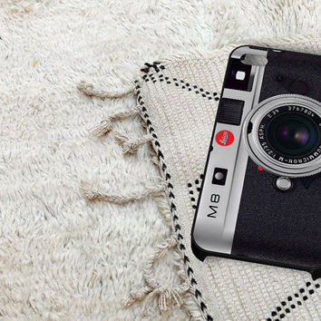 Leica M8 2 iPhone 5 iPhone 4 / 4S Plastic Hard Case Soft Rubber Case