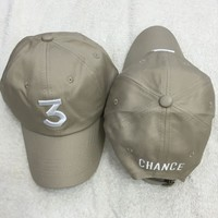 Chance The Rapper CHANCE 3 The Rapper Hat Dad Hat
