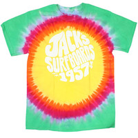 Shop Jack's Surfboards Joyride Tiedye Tee in Flash Black | Jack's Surfboards