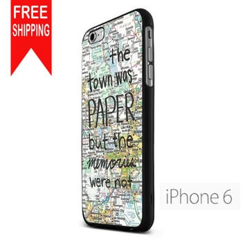 Paper Towns John Green  Us Udn iPhone 6 Case