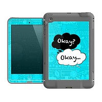 The Okay Speech Bubbles Over Collage Skin for the Apple iPad Mini fr_ LifeProof Case
