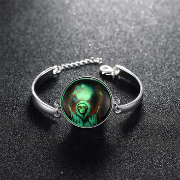 Shiny Gift New Arrival Great Deal Stylish Awesome Hot Sale Accessory Skull Terrible Noctilucent Bracelet [8065788801]