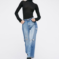 Free People The Patchwork Skinny