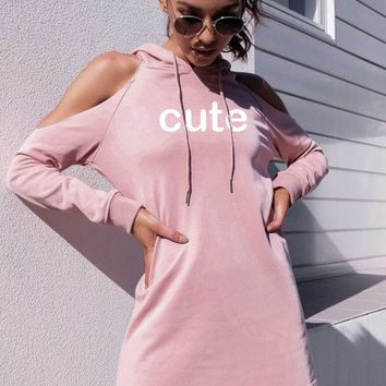 Hats Hoodies Alphabet Strapless One Piece Dress [187913273369]