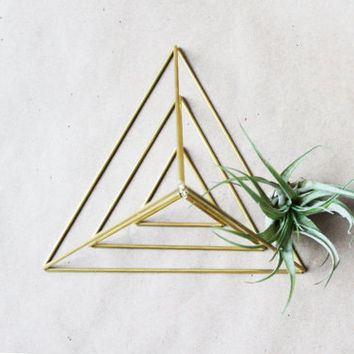 Himmeli Triangle | Tetrahedron | Set of 3