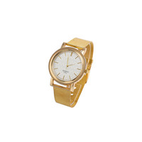 GOLD QUARTZ WATCH