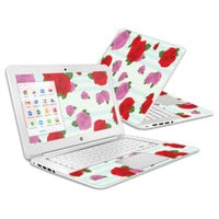 Skin Decal Wrap for HP Chromebook 14 (2014) Cover Skins Roses